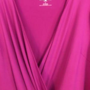 💗 Talbot's 1X pink knit dress NWOT 💗